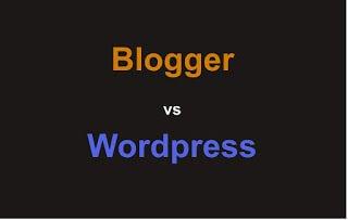 Blogger atau Wordpress