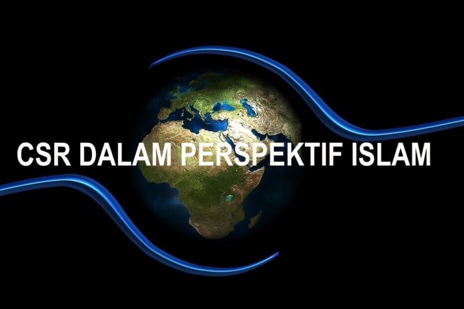 CSR dalam Perspektif Islam