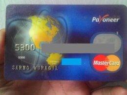 Kartu Debit Payoneer
