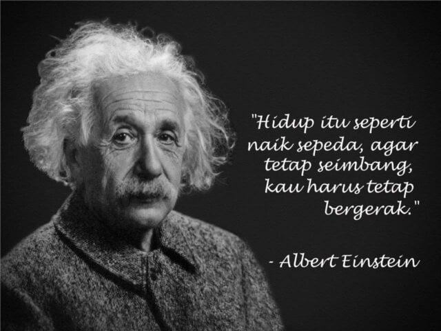 Kutipan Kalimat Bijak Albert Einstein