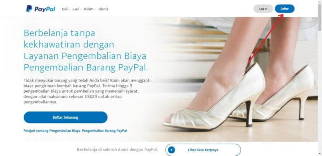 Cara Membuat Rekening Paypal untuk Pemula