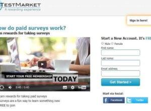 Survei Berhadiah di Global Test Market