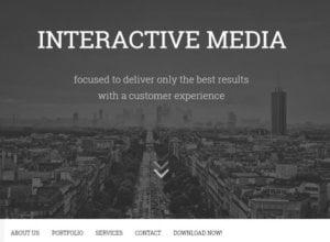 Bolt, Template Keren untuk Blog Portofolio