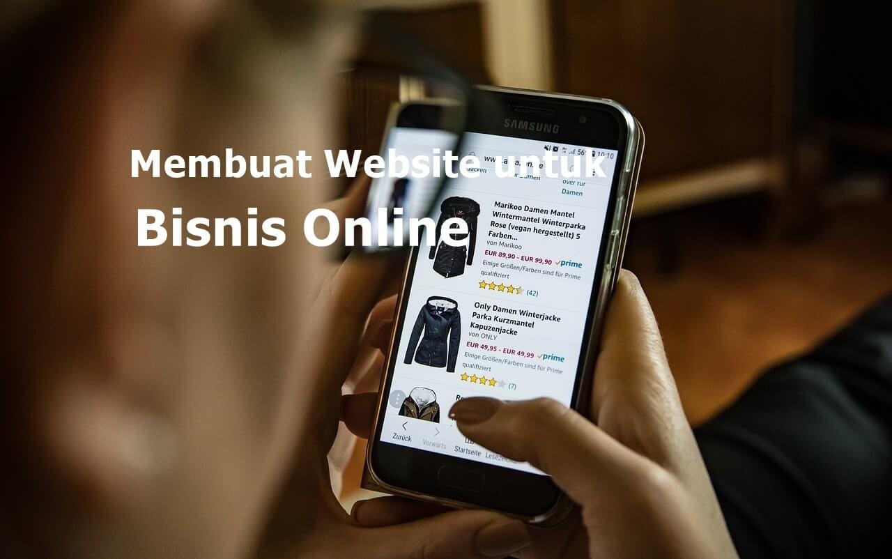 Membuat Website untuk Bisnis Online