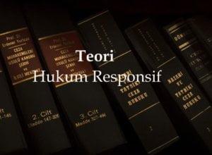 Sejarah Pemikiran Teori Hukum Responsif