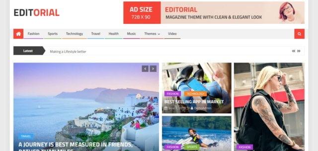 Template Portal Berita Gratis
